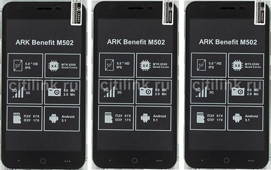 ARK Benefit M502 Dual